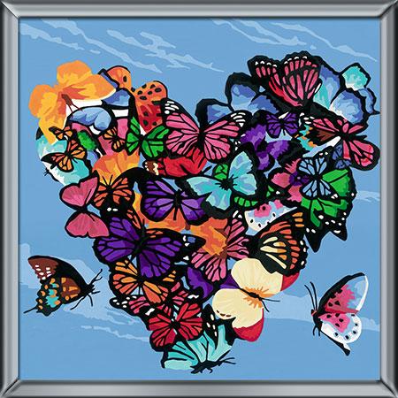 Malen nach Zahlen Bild Lovely Butterflies - 29022 von Ravensburger