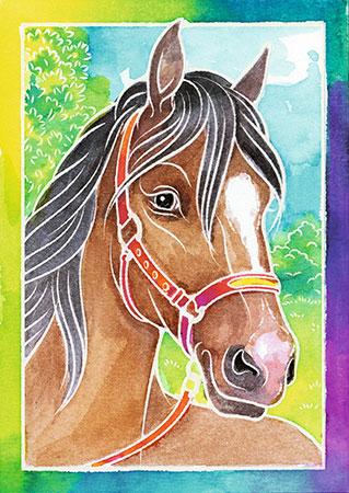 Malen nach Zahlen Bild Pferdeportrait - 29105 von Ravensburger
