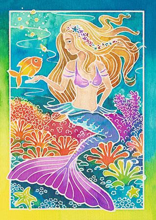Malen nach Zahlen Bild Meerjungfrau - 29113 von Ravensburger
