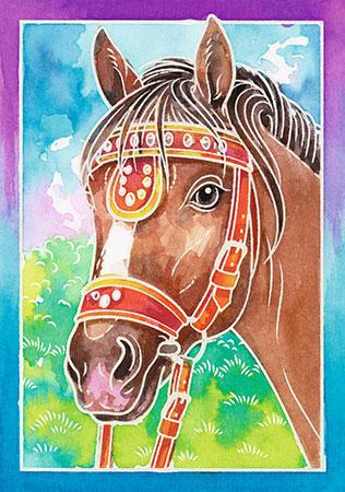 Malen nach Zahlen Bild Pferdeportrait - 29114 von Ravensburger