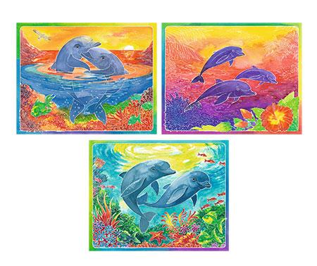 Malen nach Zahlen Bild Verspielte Delfine - 29118 von Ravensburger
