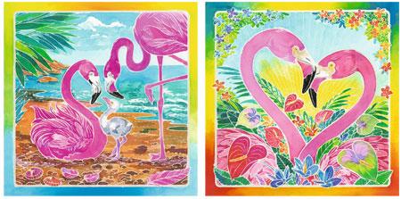 Malen nach Zahlen Bild Traumhafte Flamingos - 29129  von Ravensburger