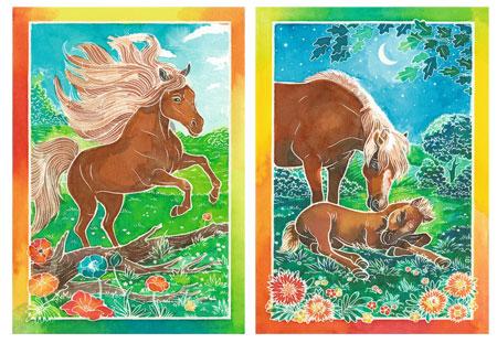 Malen nach Zahlen Bild Wilde Pferde - 29133  von Ravensburger