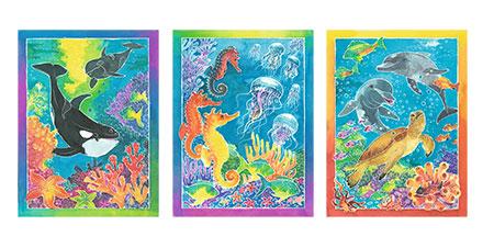 Malen nach Zahlen Bild Bunte Unterwasserwelt      - 29349 von Ravensburger