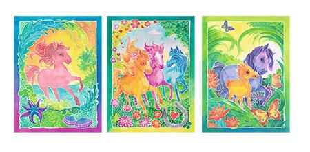 Malen nach Zahlen Bild Tolle Ponys                      - 29351 von Ravensburger