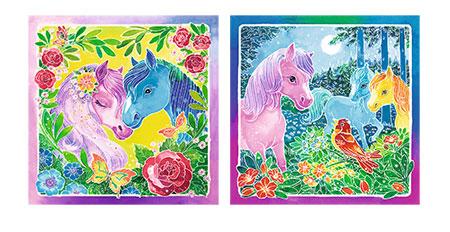 Malen nach Zahlen Bild Bunte Ponys                - 29352 von Ravensburger