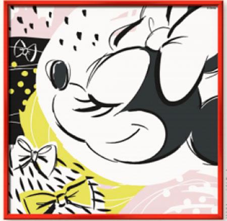 Malen nach Zahlen Bild Disney: Timeless Minnie - 29399 von Ravensburger