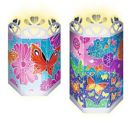 Malen nach Zahlen Bild Bunte Schmetterlinge - Windlicht - 29415 von Ravensburger