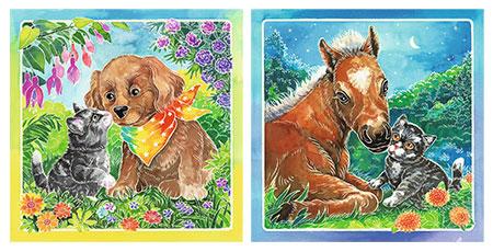 Malen nach Zahlen Bild Tierliebe - 29433 von Ravensburger