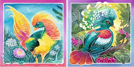 Malen nach Zahlen Bild Bunte Vögel - 29443 von Ravensburger