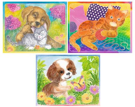 Malen nach Zahlen Bild Tierfreundschaften - 29495 von Ravensburger