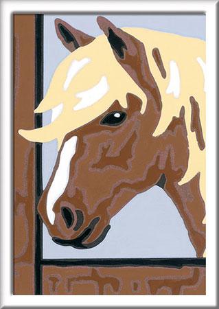 Malen nach Zahlen Bild Pferd Daisy                      - 29604 von Ravensburger