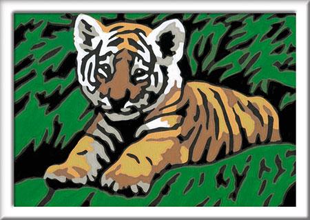 Malen nach Zahlen Bild Süßer Tiger                - 29605 von Ravensburger