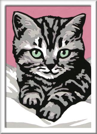 Malen nach Zahlen Bild Liebevolles Kätzchen - 29679 von Ravensburger