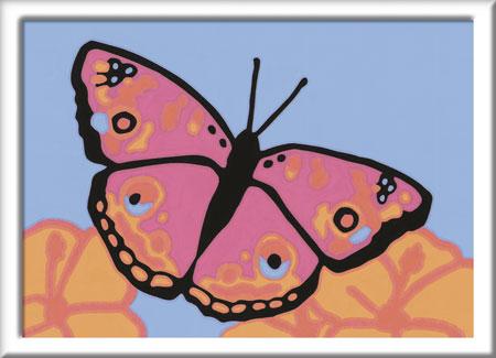 Malen nach Zahlen Bild Bunter Schmetterling - 29680 von Ravensburger