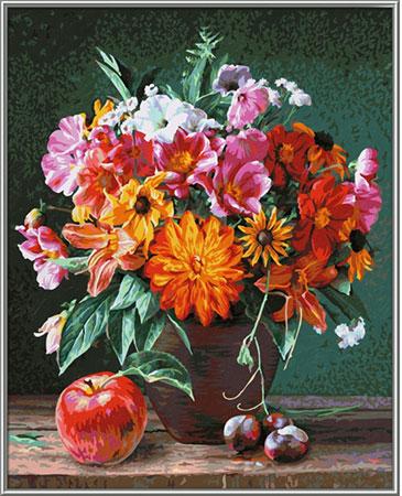 Malen nach Zahlen Bild Herbstimpressionen - 609130778 von Schipper
