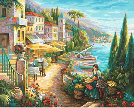 Malen nach Zahlen Bild Bella Italia - 609130814 von Schipper