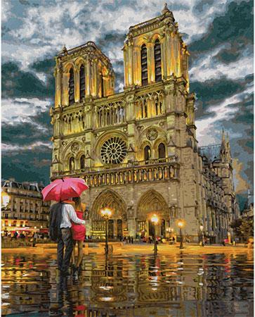 Malen nach Zahlen Bild Notre Dame - 609130817 von Schipper