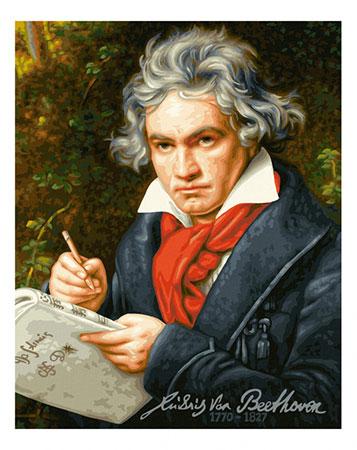 Malen nach Zahlen Bild Ludwig van Beethoven - 609130834 von Schipper