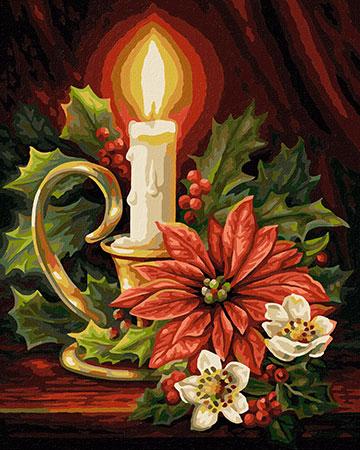 Malen nach Zahlen Bild Weihnachten - 609240827 von Schipper