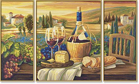Malen nach Zahlen Bild Dolce Vita - Triptychon - 609260537 von Schipper