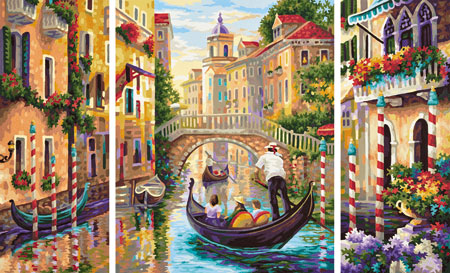 Malen nach Zahlen Bild Venedig - Die Stadt in der Lagune - 609260736 von Schipper