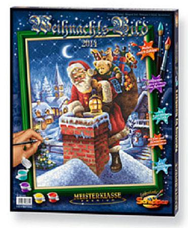 Malen nach Zahlen Bild Weihnachtsbild  - 609300682 von Schipper