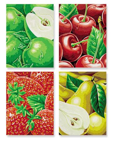 Malen nach Zahlen Bild Tutti Frutti - 609340535 von Schipper