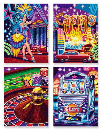 Malen nach Zahlen Bild Visit Las Vegas - 609340559 von Schipper