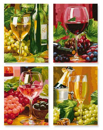 Malen nach Zahlen Bild In Vino Veritas - 609340610 von Schipper