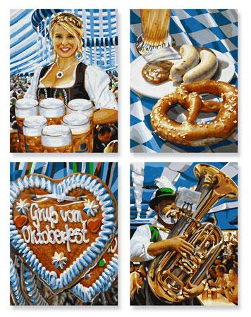 Malen nach Zahlen Bild Oktoberfest - 609340723 von Schipper