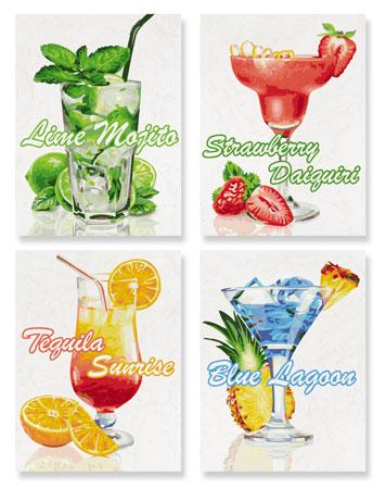 Malen nach Zahlen Bild Cocktails - 609340735 von Schipper