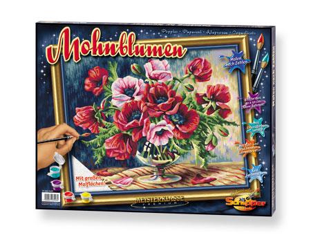 Malen nach Zahlen Bild Mohnblumen - 609350548 von Schipper