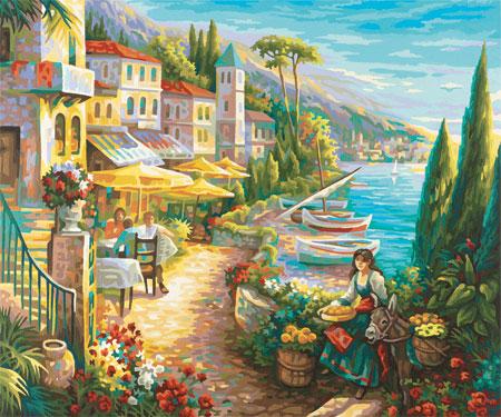 Malen nach Zahlen Bild Bella Italia - 609360557 von Schipper
