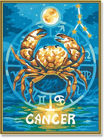 Malen nach Zahlen Bild Tierkreiszeichen Krebs - 609390675 von Schipper