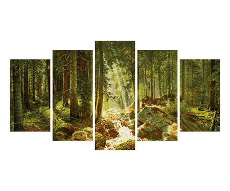 Malen nach Zahlen Bild Unser Wald - Polyptychon - 609450832 von Schipper