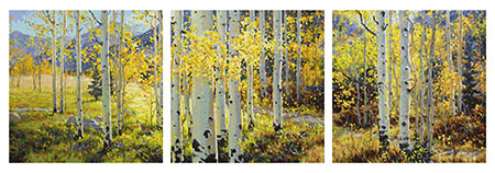 Goldener Oktober - Triptychon