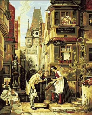 Malen nach Zahlen Bild Der ewige Hochzeiter - 609130293 von Schipper