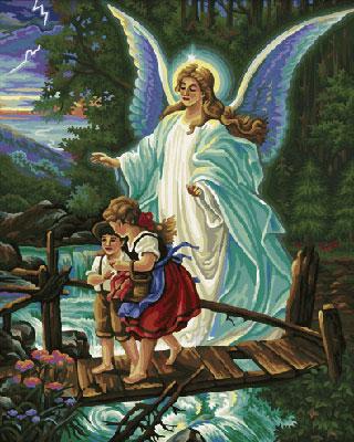 Malen nach Zahlen Bild Dein Schutzengel - 609130364 von Schipper