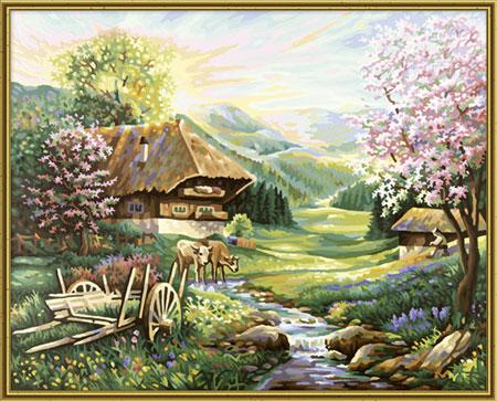Malen nach Zahlen Bild Der Frühling - 609130505 von Schipper