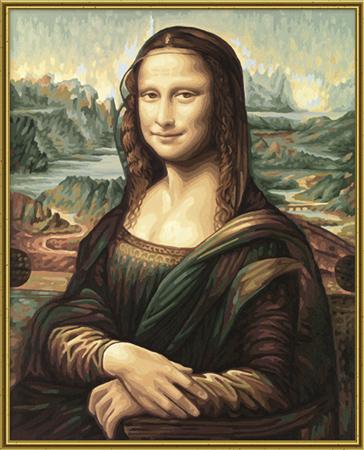 Malen nach Zahlen Bild Mona Lisa - 609130511 von Schipper