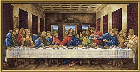 Malen nach Zahlen Bild Das letzte Abendmahl - 609220441 von Schipper