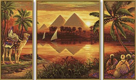 pyramiden-am-nil-triptychon