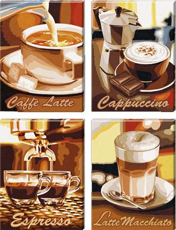 Malen nach Zahlen Bild Kaffeepause - 609340553 von Schipper