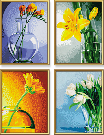 Malen nach Zahlen Bild Blumen im Licht - 609340529 von Schipper
