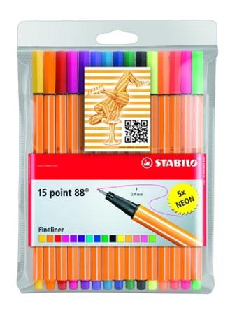 15 Fineliner - Point 88 (Stabilo)